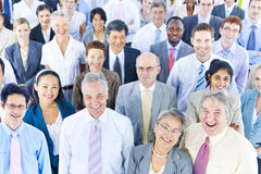 De Team Community Concept corporativo de la diversidad hombres de negocios fotos de archivo