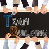 De teambouw Stock Fotografie