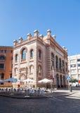 ` De Teatro Falla de mamie de `, un théâtre dans la ville de Cadix, Espagne Photographie stock