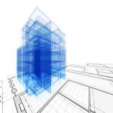 De techniek van de architectuur Royalty-vrije Stock Afbeeldingen