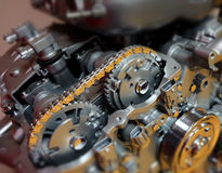 De techniekmotor past Automobiel het Ontwerpen Macht aan Royalty-vrije Stock Afbeelding