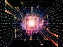 De Technologieën van cpu Royalty-vrije Stock Afbeelding