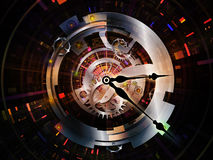 De Technologieën van het uurwerk stock illustratie