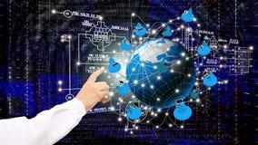 De technologieën van Internet royalty-vrije stock afbeeldingen