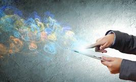 De Technologieën van media Stock Afbeeldingen