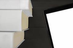 De Technologieën van tabletboeken Royalty-vrije Stock Foto's