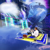 De technologie Internet Royalty-vrije Stock Afbeelding
