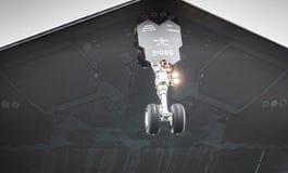 De technologie van de de bommenwerpershuid van de heimelijkheidsvechter Stock Foto's
