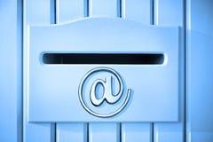 De Technologie van de e-mailbrievenbuspost Stock Afbeelding