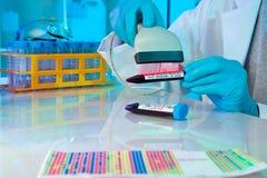 De technologie van de streepjescode in gezondheidszorg Royalty-vrije Stock Fotografie