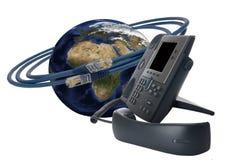 De technologie van de telefoon Stock Foto's