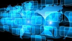 De technologie van de wereld Stock Afbeelding
