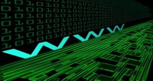 De technologie van Internet Royalty-vrije Stock Foto