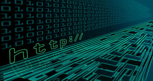 De technologie van Internet Royalty-vrije Stock Afbeeldingen