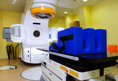 De technologie van Rradiotherapy stock foto's