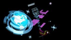 De technologie van verwezenlijkingssnelle internetdiensten Stock Fotografie