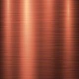 De Technologieachtergrond van het bronsmetaal Royalty-vrije Stock Afbeelding
