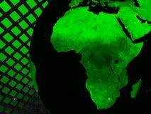 De technologieconcept van Afrika Stock Foto's