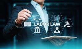 De Technologieconcept van Legal Business Internet van de Arbeidsrechtadvocaat royalty-vrije stock fotografie