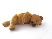 de teddybeer van 1950 royalty-vrije stock foto's