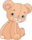 De Teddybeer van de zitting Stock Fotografie