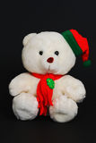 De teddybeer van Kerstmis royalty-vrije stock afbeelding