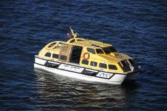 De Tedere Boot van het schip in Barhaven, Verenigde Staten, 2015 Royalty-vrije Stock Afbeelding