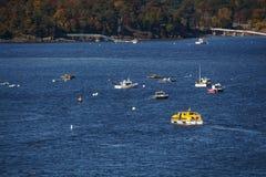 De Tedere Boot van het schip in Barhaven, Verenigde Staten, 2015 Stock Foto's