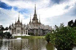 De Teen van tempelmaha wihan luang Pho Royalty-vrije Stock Foto