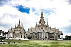 De Teen van tempelmaha wihan luang Pho Royalty-vrije Stock Afbeelding