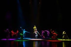 """ de teenager†de Pékin Opera""""Yue de sept lumière-enfants de couleur Image libre de droits"""
