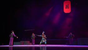 """ de teenager†de Pékin Opera""""Yue des arme à feu-enfants croisés de point Photos libres de droits"""