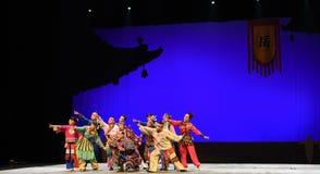 " de teenager†de Pékin Opera""Yue des espoir-enfants éloignés Photos libres de droits"