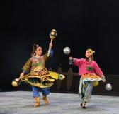 " de teenager†de Pékin Opera""Yue des marteau-enfants de concurrence de Wushu Photos stock"
