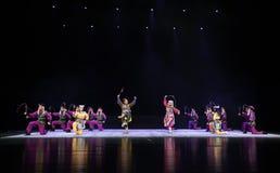 """ de teenager†de Pékin Opera""""Yue des résultat-enfants paisibles Images stock"""