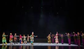 """ de teenager†de Pékin Opera""""Yue des résultat-enfants paisibles Photo stock"""