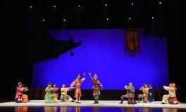 """ de teenager†de Pékin Opera""""Yue des résultat-enfants paisibles Photographie stock"""