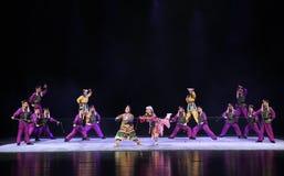 """ de teenager†de Pékin Opera""""Yue des troupe-enfants Manchu Photo libre de droits"""