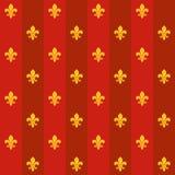 De tegel van DE lys van Fleur Royalty-vrije Stock Foto