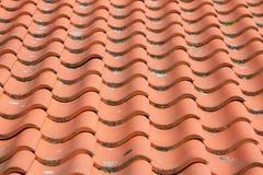 De Tegel van het dak Royalty-vrije Stock Afbeeldingen