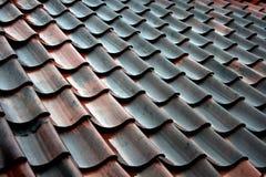 De tegel van het dak Stock Foto
