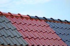 De Tegel van het dakwerk stock afbeelding