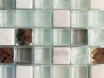 De tegel van het glasmozaïek stock afbeeldingen