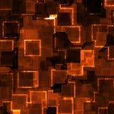De tegelachtergrond van het neon Stock Afbeeldingen