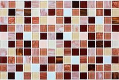 De tegelachtergrond van het tegelmozaïek stock afbeelding