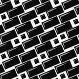 De tegelmuur van de metrobaksteen Vector illustratie stock illustratie