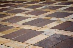 De tegelpatroon van de steen Royalty-vrije Stock Foto's