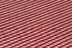 De tegelpatroon van het dak Stock Foto's
