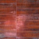 De Tegels van de roestkleur Stock Fotografie