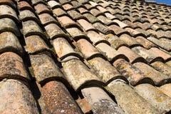 De Tegels van Dubrovnik Stock Afbeeldingen